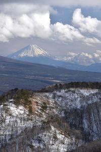 春富士遠望 - F3110のフォト