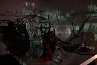 夜のテンポラリースペース。 - glass cafe gla_glaのグダグダな日々。