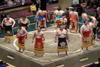 大相撲初場所5日目の観戦 - 何でも写真館
