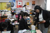 中学生・義務教育最後の美術の授業(その3) - 美術と自然と教育と