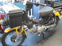 ミツバサンコーワのドラレコ - バイクの横輪