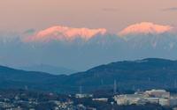 雪山残照 - 千種観測所