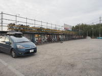 2020.01.07 中古タイヤ市場で自販機そば - ジムニーとハイゼット(ピカソ、カプチーノ、A4とスカルペル)で旅に出よう