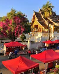 ラオスの旅 21 ナイトマーケット♪@ルアンパバーン - FK's Blog