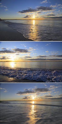 2020/02/01(SAT) 週末の穏やかな海 - SURF RESEARCH