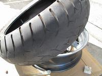 Griso 8V タイヤ交換 2 - なんでバイクに乗るのでしょう?