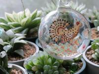 クラウス・ハーパニエミのガラスのオーナメント。 - あるまじろの庭
