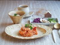 トマトリゾット朝ごはん - 陶器通販・益子焼 雑貨手作り陶器のサイトショップ 木のねのブログ