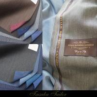 ヴィターレ・バルベリス・カノニコ<シルク混ダブルウォープ> | スーツ - オーダースーツ東京 | ツサカテーラー 公式ブログ