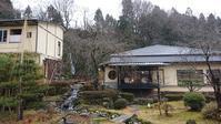 雪が降りました! - 金沢犀川温泉 川端の湯宿「滝亭」BLOG