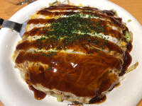 広島風がお好み焼きでは好きみやこ亭水天宮前にて - 味オンチの味道楽