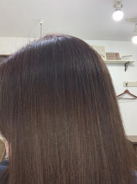 今回は早めに自分メンテ - ☆お肌に優しい 低刺激の白髪染め 大人のためのおしゃれサロン 岩見沢美容室ココノネ太田汐美の パーマネント日記