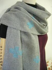 生徒さんの作品(オーバーショット、織成) - アトリエひなぎく 手織り日記