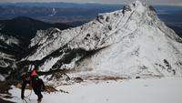 赤岳登山同行 - 山と元太