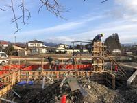 かぎがたの縁のコンクリート打設 - 安曇野建築日誌