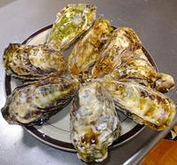 牡蠣と恵方巻2月4日(火) - しんちゃんの七輪陶芸、12年の日常
