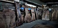 ウォールナット一枚板変形 - SOLiD「無垢材セレクトカタログ」/ 材木店・製材所 新発田屋(シバタヤ)