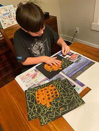 るうるうから家族へのクリスマスプレゼント、手作りカレンダー - くもりのち雨、ときど~き晴れ Seattle Life 3