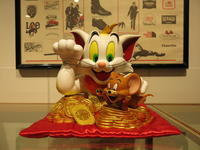 """""""TOM AND JERRY LUCKY CAT""""ってこんなこと。 - THE THREE ROBBERS ってこんなこと。"""