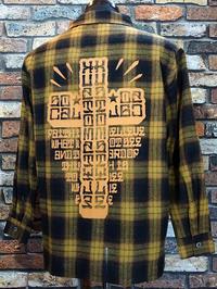 kustomstyle カスタムスタイル 長袖チェックシャツ (KSLCS2004) faith check shirts - ZAP[ストリートファッションのセレクトショップ]のBlog