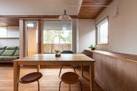 公園を独り占めできる2階リビングの家竣工写真 - 加藤淳一級建築士事務所の日記