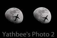 ~ 月と旅客機 ~2020.2.5 - Yathbee's Photo 2