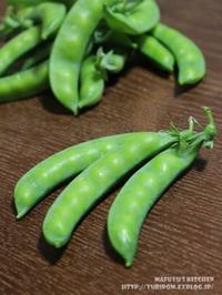 【保存版!静岡産砂糖豌豆(えんどう)のお話と冷凍保存の方法。(静岡クッキングアンバサダー)】 - スパイスと薬膳と。