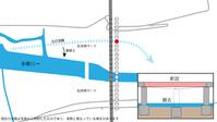 日野橋復旧工事瀬替えが概ね完了し まもなく橋桁撤去に着手 - 俺の居場所2(旧)