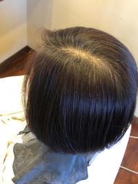 「敏感肌でマニキュアしてた方にノジアで白髪染め」 - 観音寺市 美容室 accha