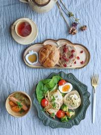 まぐろのアクアパッツァ朝ごはん - 陶器通販・益子焼 雑貨手作り陶器のサイトショップ 木のねのブログ