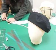 今日の教室(ベレー) - ドレスレイのブログ 洋裁教室 帽子教室 東京都 荒川区