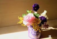 「お家にお花を飾る」-春のお花でヴァレンタインを- - Bouquets_ryoko