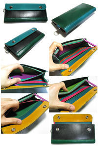 Long Wallet 7 ¥27,500 20cm x 9.5cm x2.5cm - THE STETCH NEWS