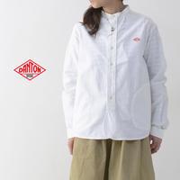DANTON [ダントン] W's L/S OXFORD NO COLLAR SHIRTS [JD-3606YOX] ノーカラーシャツ・レディース・女性用・LADY'S - refalt blog