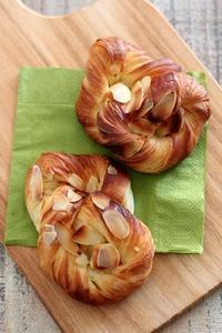 パン教室で「デンマークデニッシュ」6種 - Takacoco Kitchen