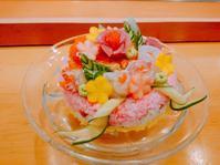 お誕生日に寿司ケーキはいかがですか? - 日本料理しみずや 気ままな女将通信