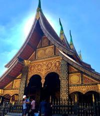 ラオスの旅  24 ルアンパバーンのシンボル ワット・シェントーン - FK's Blog