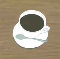カフェインレス - たなかきょおこ-旅する絵描きの絵日記/Kyoko Tanaka Illustrated Diary
