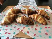 餡入り米粉クロワッサン - カフェ気分なパン教室  *・゜゚・*ローズのマリ