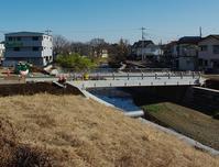 所沢市下安松柳瀬川にかかる橋 - ひのきよ