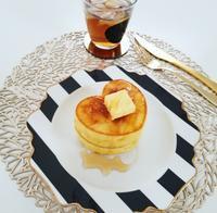 DAISOのシリコン型でハートのパンケーキ♡ - 白くて丸いもの