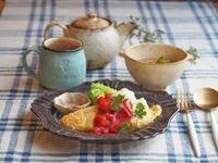 オムライス朝ごはん - 陶器通販・益子焼 雑貨手作り陶器のサイトショップ 木のねのブログ
