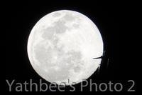 ~ 月と旅客機 ~2020.2.8 - Yathbee's Photo 2