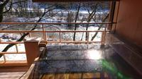 お部屋で雪見風呂♪ - 金沢犀川温泉 川端の湯宿「滝亭」BLOG