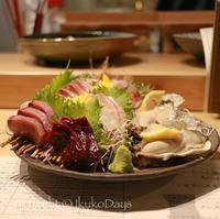 新宿で魚が食べたい&日本酒気分になったらココへ!:「うおや 坐唯杏」新宿三丁目・御苑前 - IkukoDays