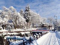 浦佐の美しい冬景色を見ることが出来ました! - 浦佐地域づくり協議会のブログ