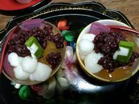 甘栗の汁であんみつ~正月料理の余り物レシピ~ - 日々ニコニコ