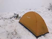 登山2020年1月23日・1月24日冬山テント泊 - フクちゃんのフライ日記