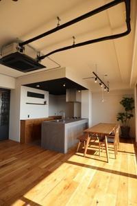 ■浜松市東区N様邸マンションリノベーション完成 - hiro furniture