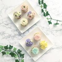 レッスンレポートフラワーカップケーキレッスン - Sweets Studio Floretta* Flower Cake & Sweets Class@SHIGA